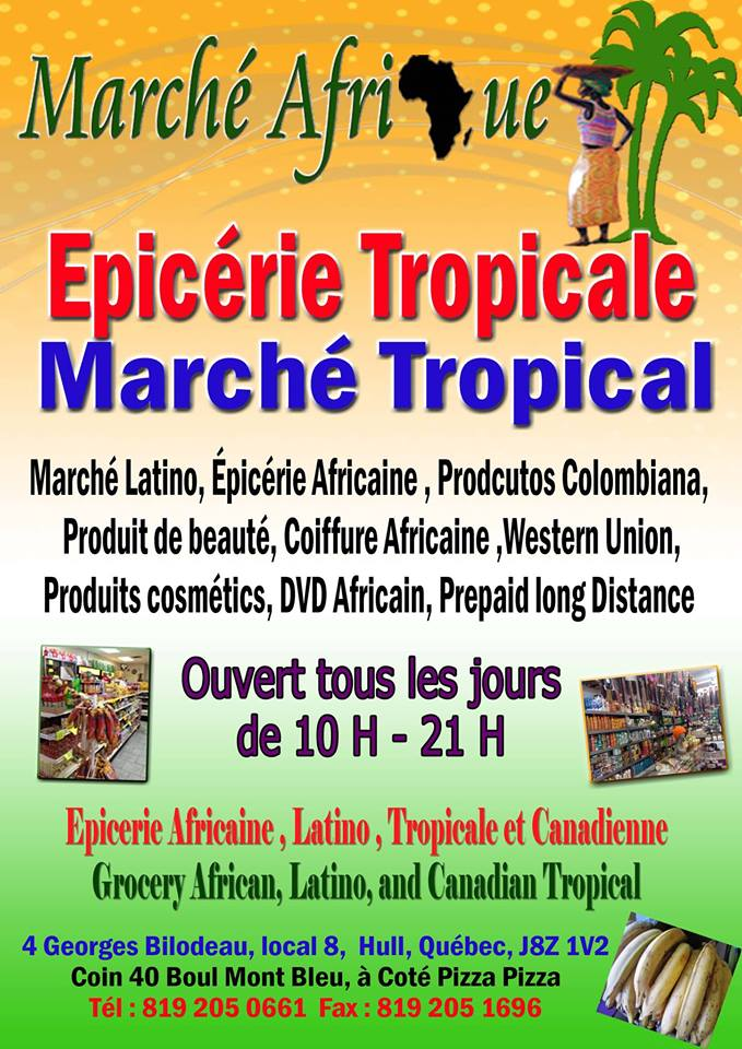 Marché Tropical Marché Tropical Hull Marché Tropical